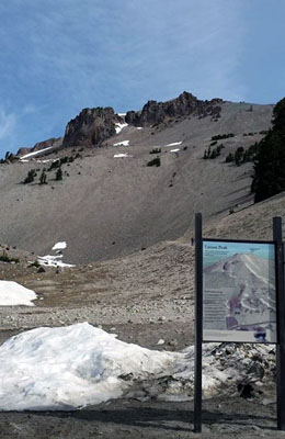 Lassen Peak July, 14 2014