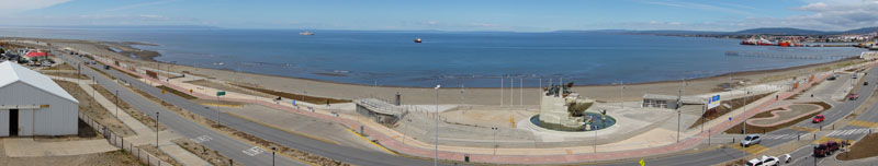 Punta Arenas, Chile, on the way to Antarctica
