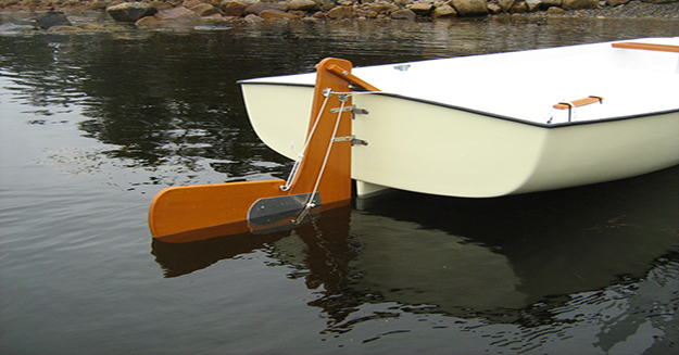 The rudder guides a boat, just as we need guidance and direction in our lives